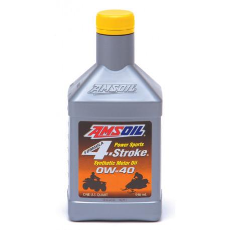 AMSOiL Formula 4-Stroke Power Sports Synthetic Motor Oil 0W40