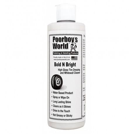 POORBOY'S WORLD Bold N Bright Tire Dressing 473ml