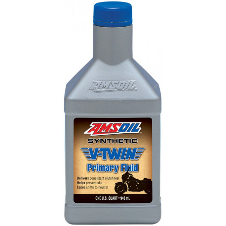 Amsoil Synthetic V-Twin Primary Fluid