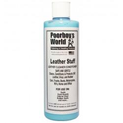 POORBOY'S Leather Stuff 473ml Czyści odżywia skórę