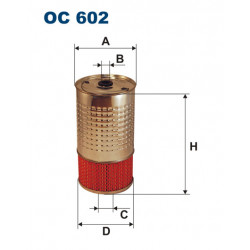 FILTRON FILTR OLEJU OC 602
