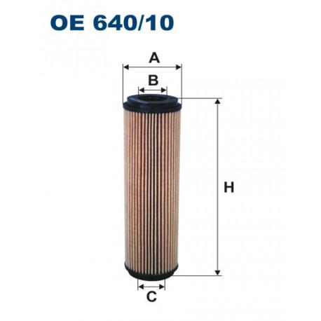 FILTRON FILTR OLEJU OE 640/10