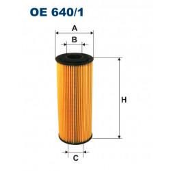 FILTRON FILTR OLEJU OE 640/1