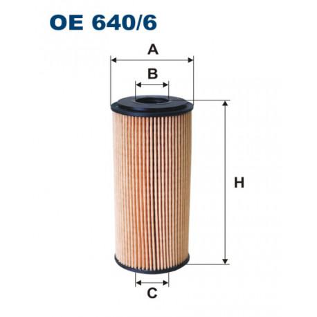 FILTRON FILTR OLEJU OE 640/6