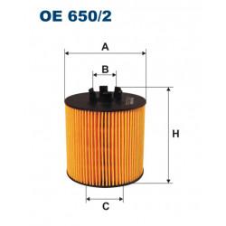 FILTRON FILTR OLEJU OE 650/2