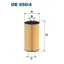 FILTRON FILTR OLEJU OE 650/4