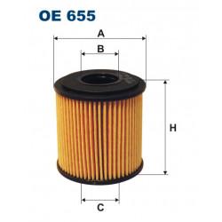 FILTRON FILTR OLEJU OE655