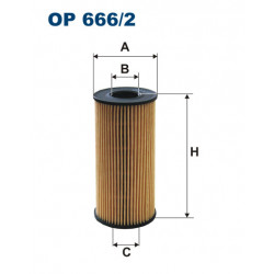 FILTRON FILTR OLEJU OE666/2