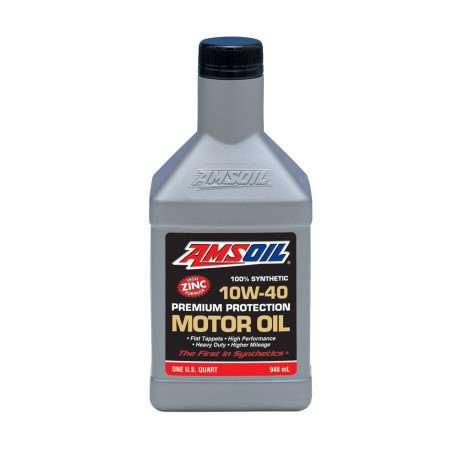 AMSOiL Premium Protection Synthetic Oil 10W40 AMO