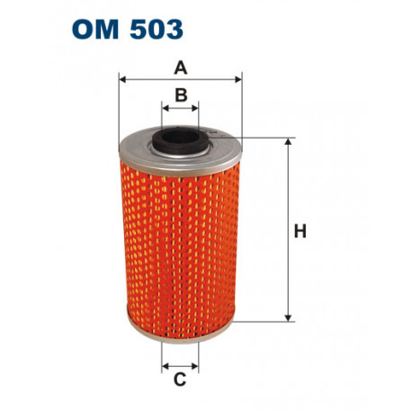 FILTRON FILTR OLEJU OM503