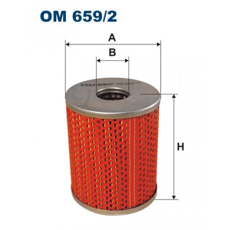 FILTRON FILTR OLEJU OM659/2