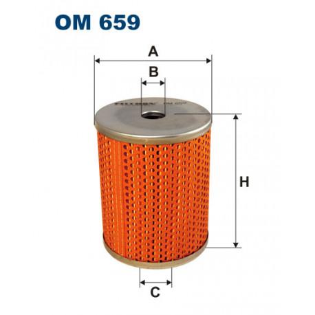FILTRON FILTR OLEJU OM659