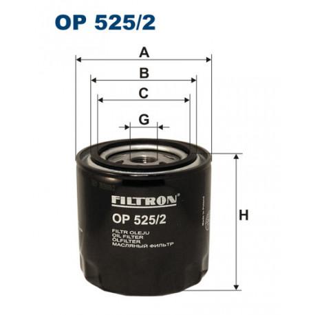 FILTRON FILTR OLEJU OP525/2