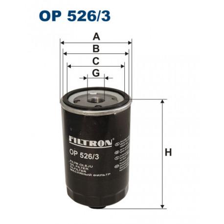 FILTRON FILTR OLEJU OP526/3
