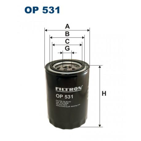 FILTRON FILTR OLEJU OP531