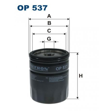 FILTRON FILTR OLEJU OP537