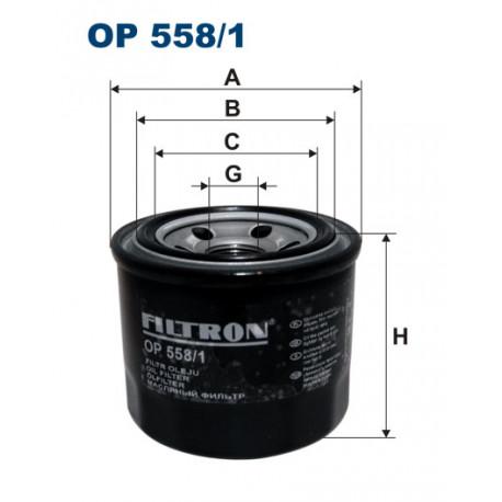 FILTRON FILTR OLEJU OP558/1