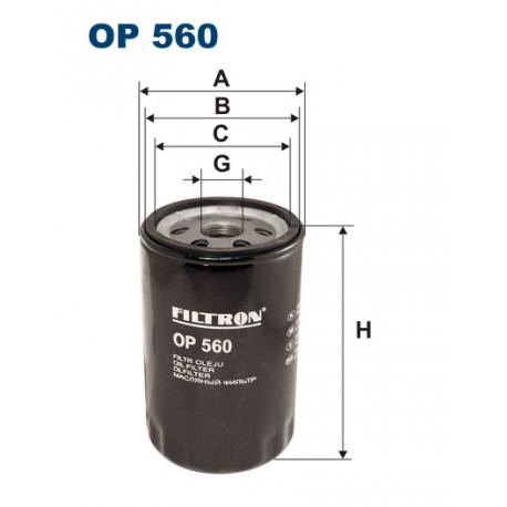 FILTRON FILTR OLEJU OP560