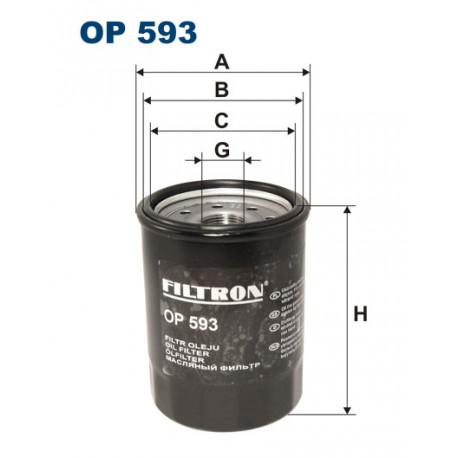 FILTRON FILTR OLEJU OP593