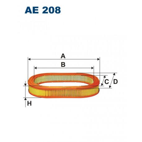 FILTRON FILTR POWIETRZA AE 208