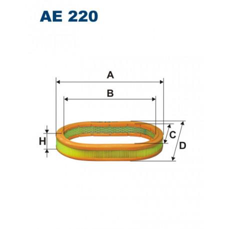 FILTRON FILTR POWIETRZA AE 220