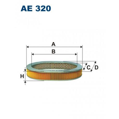 FILTRON FILTR POWIETRZA AE320