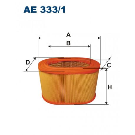FILTRON FILTR POWIETRZA AE333/1