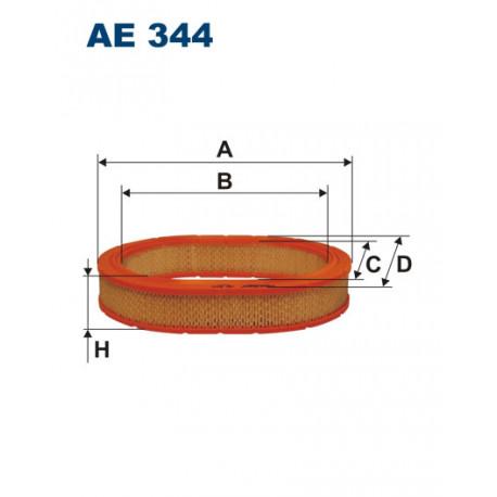 FILTRON FILTR POWIETRZA AE 344