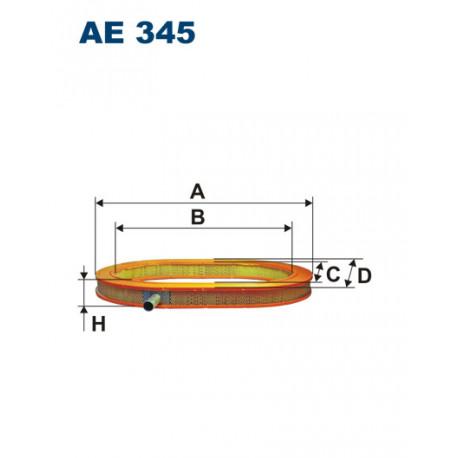FILTRON FILTR POWIETRZA AE 345