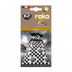 K2 ROKO RACE ZAPACH SAMOCHODOWY WANILIA