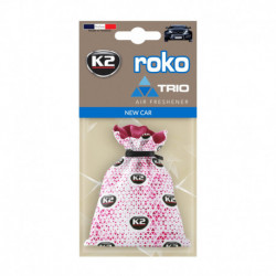 K2 ROKO TRIO ZAPACH SAMOCHODOWY NEW CAR