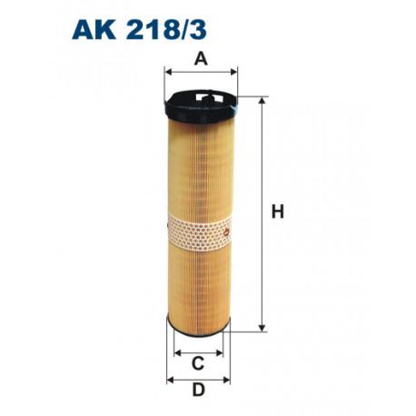 FILTRON FILTR POWIETRZA AK 218/3