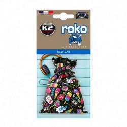 K2 ROKO FUN ZAPACH SAMOCHODOWY NEW CAR