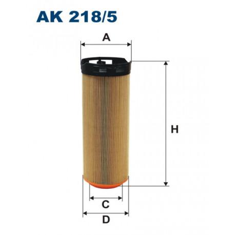 FILTRON FILTR POWIETRZA AK218/5