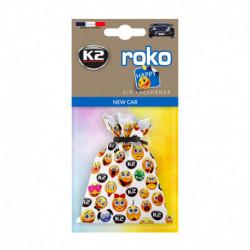 K2 ROKO HAPPY ZAPACH SAMOCHODOWY NEW CAR