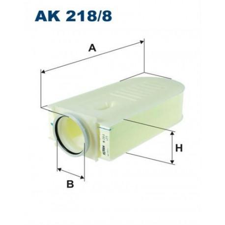 FILTRON FILTR POWIETRZA AK218/8