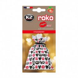 K2 ROKO KISS ZAPACH SAMOCHODOWY TRUSKAWKA 25G