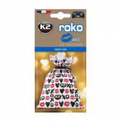 K2 ROKO KISS ZAPACH SAMOCHODOWY NEW CAR