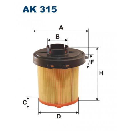FILTRON FILTR POWIETRZA AK315