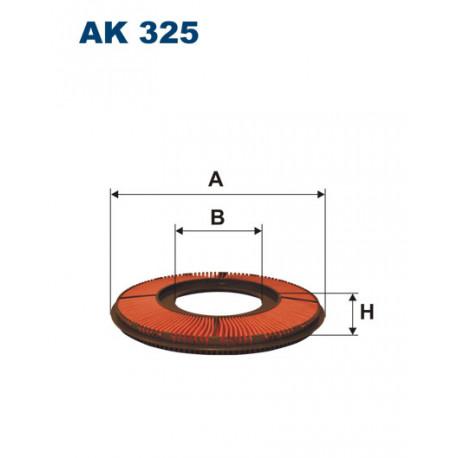 FILTRON FILTR POWIETRZA AK325