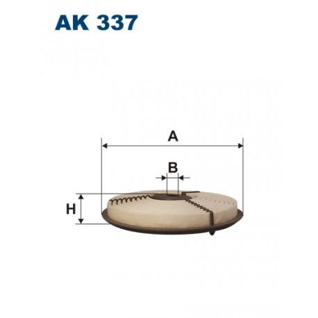 FILTRON FILTR POWIETRZA AK337