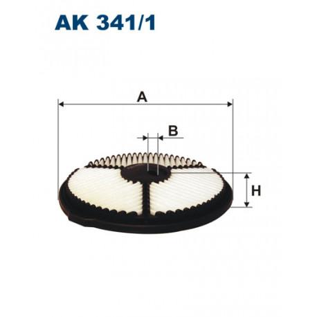 FILTRON FILTR POWIETRZA AK341/1