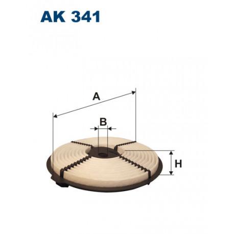 FILTRON FILTR POWIETRZA AK341