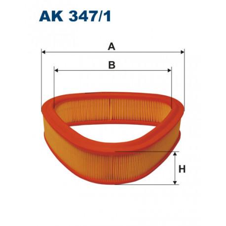 FILTRON FILTR POWIETRZA AK347/1