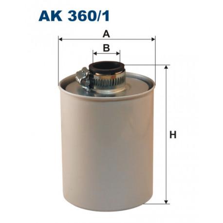 FILTRON FILTR POWIETRZA KOMPRESORA AK360/1