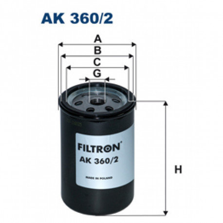 FILTRON FILTR POWIETRZA AK360/2
