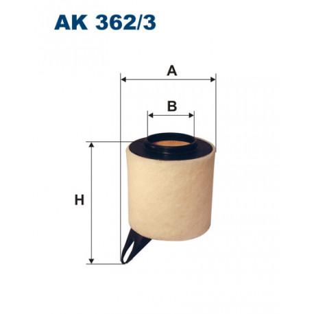 FILTRON FILTR POWIETRZA AK362/3