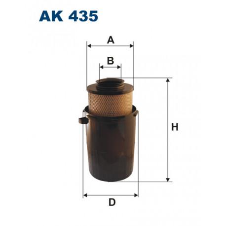 FILTRON FILTR POWIETRZA AK435
