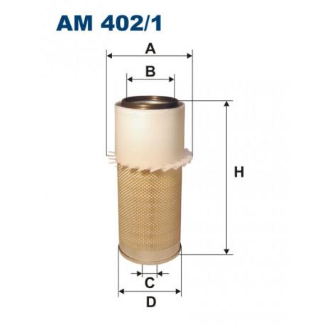 FILTRON FILTR POWIETRZA AM402/1