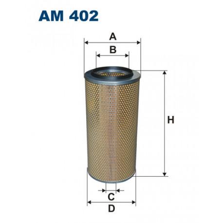 FILTRON FILTR POWIETRZA AM402